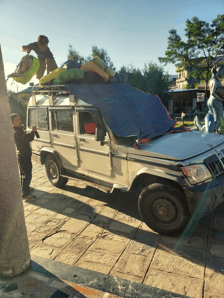mahindra jeep in besisahar