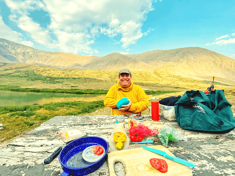 meal planning while camping