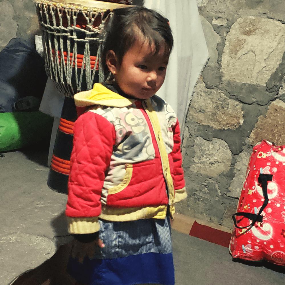 little nepali girl