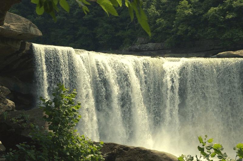waterfall in kentucky
