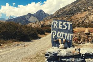 rest stop in nepal