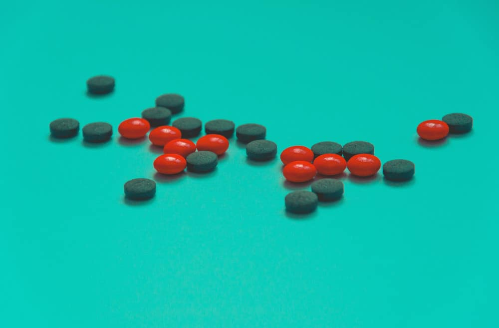 tablets against a blue background
